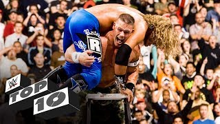 Finishing moves off ladders: WWE Top 10, Dec. 11, 2019