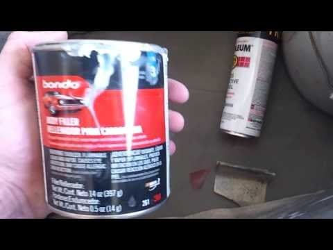 How to Paint your car with spray cans DIY