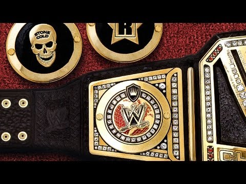 Wwe Championship Side Plates Wwe Custom Side Plates For