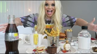 EPIC ROOM SERVICE MUKBANG! | TRISHA PAYTAS EATING SHOW