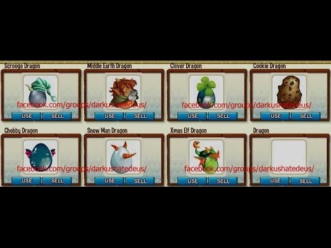 Hack De Los Nuevos Dragones De Navidad Para Dragon City 2013