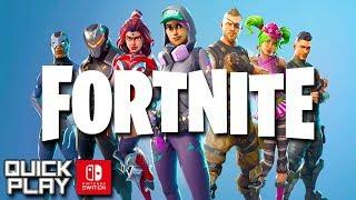 Fortnite Nintendo Switch Gameplay! (Quick Play)