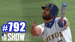LONGEST HOMER AS A BREWER! | MLB The Show 19 | Road to the Show #792