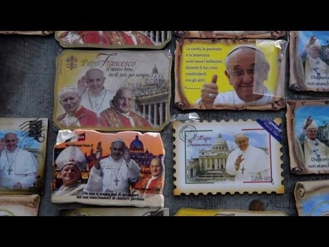 Vatican readies for Sunday's double canonisation