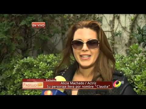 La Selfie de Lo Imperdonable - Alicia Machado y su personaje