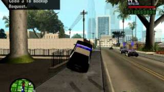 Gta sa Cleo mod Police Chase with sound new! (Cleo4)