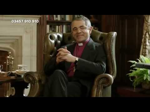 Rowan Atkinson - The Archbishop of Canterbury - Comic Relief 2013