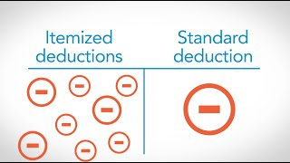 Reduce Taxable Income with Itemized and Standard Tax Deductions – TurboTax Tax Tip Video