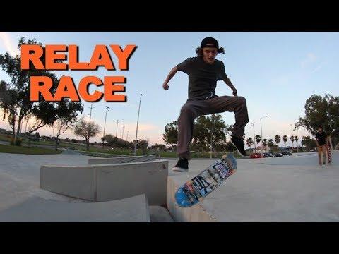 GOOFY VS REGULAR - Relay Race