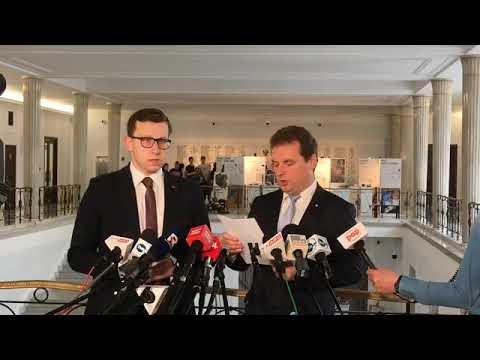 Jacek Wilk Przedstawia Rezolucję, Która Ma Chronić Polskę Przed Ustawą 447