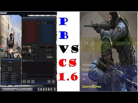 cs vs pb Jogando uma partida no Cs 1.6