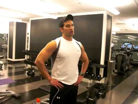 Tricep Workout and Tricep Exercises With Dumbbells Image 1