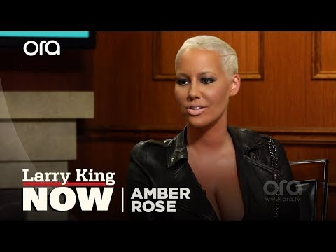 Amber Rose Opens Up About Wiz Khalifa, Machine Gun Kelly | Larry King Now | Ora.TV
