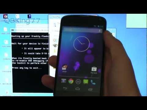 How to Unroot/Unbrick the Google Nexus 4