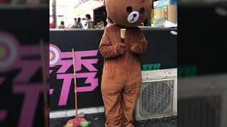 Gấu phát tờ rơi vô cùng hài hước và lầy lội 😂😂 #2