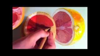 how to draw grapefruit