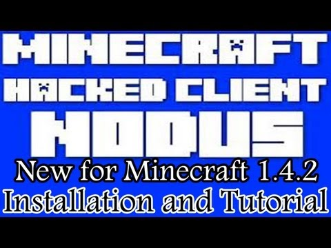|NODUS| 1.5.2 Minecraft Hacked Client Download (Installation and Tutorial) HD