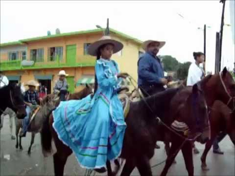 Desfile del 20 de noviembre 2015. Los Naranjos, Tres Valles, Ver.