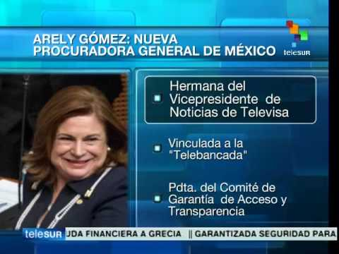 Arely Gómez, Mexico's new Attorney General