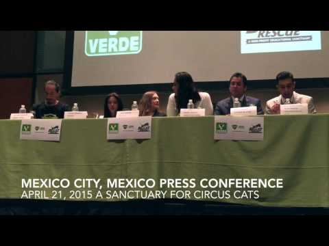 Mexican Version of Circus Animal Sanctuary Conference