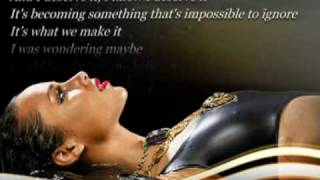 download lagu Alicia Keys - Unthinkable  Lyrics On Screen Hq gratis