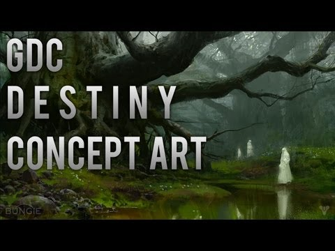 Destiny - All Brand New 50+ Concept Art From Bungie GDC 2013