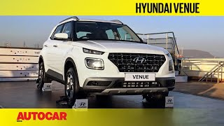 Hyundai Venue | First Look and Walkaround | Autocar India