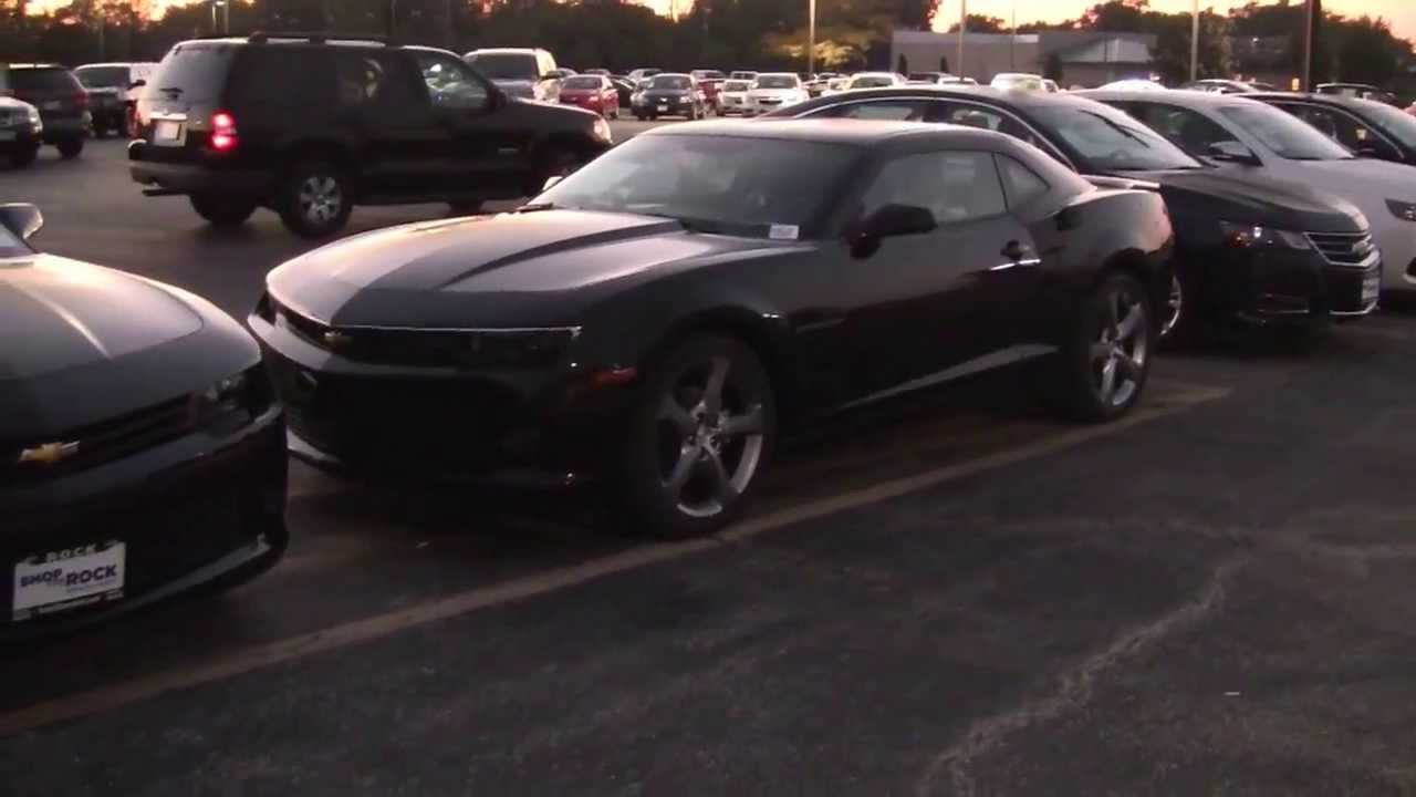 2014 Chevy Camaro Rs Black Youtube