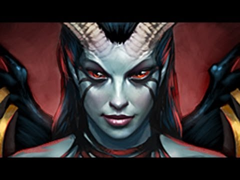 Queen of Pain DOTA 2 Intro Guide