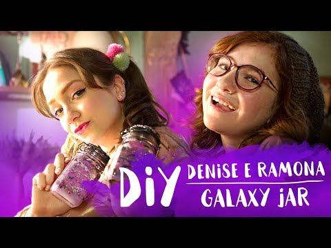 DIY GALAXY JAR com a DENISE  FESTA DO BRILHO