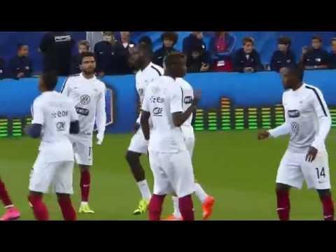 Antoine Griezmann ● Anthony Martial ● France vs Serbie 2015