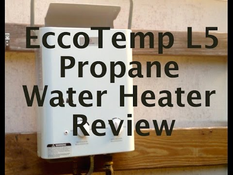The Ultimate Off-Grid Shower: EccoTemp L5 Hot Water Heater Review