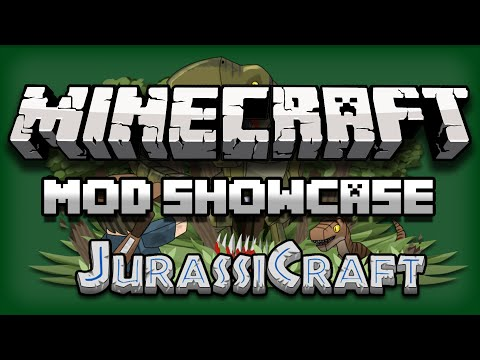 Minecraft: Mod Showcase - JurassiCraft 2.0 FULL REVIEW [1.10.2]