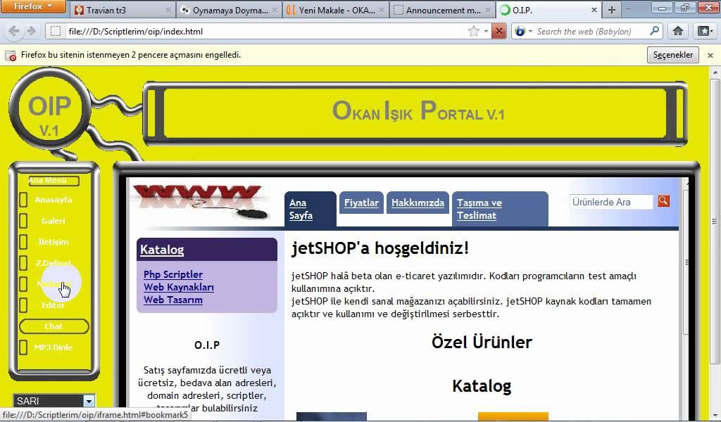 web page maker v: