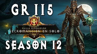 GR115 Rank 3 Necromancer Pestilence ~ Diablo 3 [Season 12]
