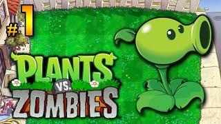 Plantas vs. Zombis│en Español por TulioX│Parte #1