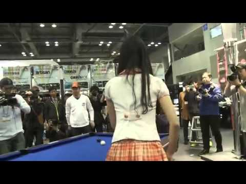 Hot Sexy Korean Girls Can Play Pool Video.mp4