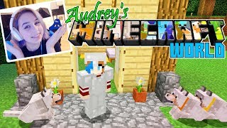 Download Lagu Audrey's World in MINECRAFT SURVIVAL | Name My Dogs! Gratis STAFABAND