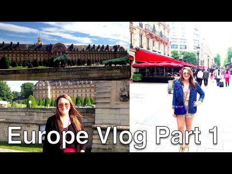 Europe Vlog Part 1 | Pamela Sanchez