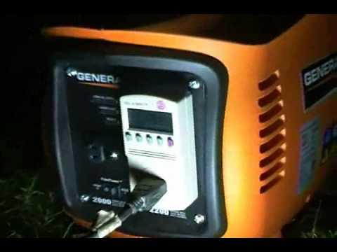 Generac iX2000 inverter generator For Sale. 2000 watt quiet gas sipper!