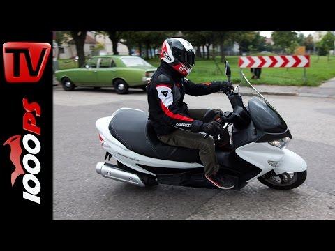 Suzuki Burgman 125   Test