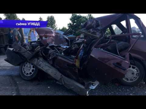 Обзор аварий. ДТП два погибших в 99-ой Орловский. Место происшествия 20.07.2017