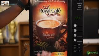 Royal Cafe: How to set up Royal EL-803 coffee vending machine?