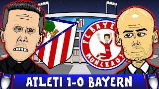 ATLETICO MADRID vs BAYERN MUNICH 1-0 UEFA Champions League 2016 Semi-Final Parody Highlights
