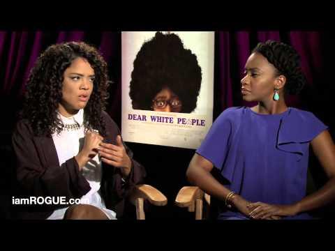 Tessa Thompson and Teyonah Parris Talk 'Dear White People'