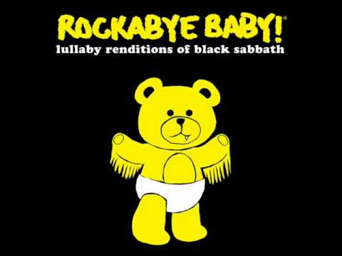 Iron Man - Lullaby Renditions of Black Sabbath - Rockabye Baby!