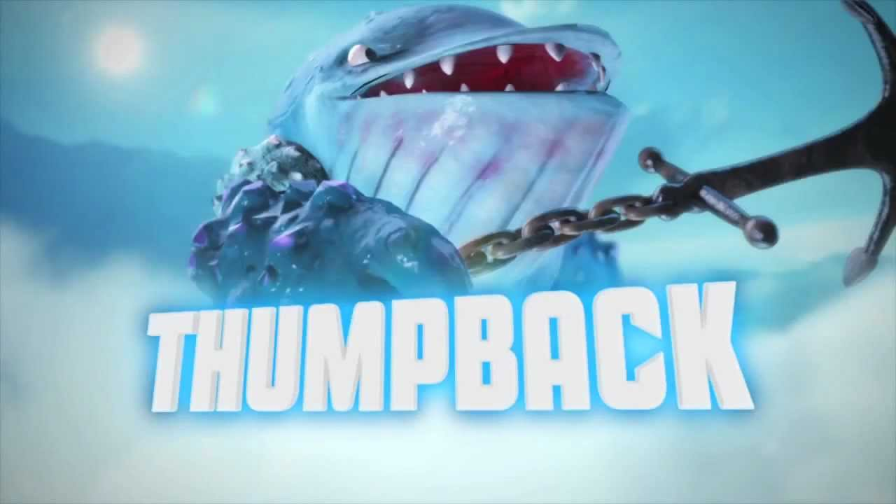 Meet the skylanders thumpback hail to the whale official trailer youtube - Skylanders thumpback ...