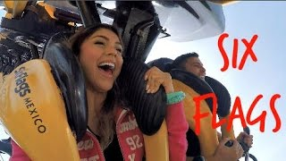 SIX FLAGS MEXICO! - PauPipe Vlog 9