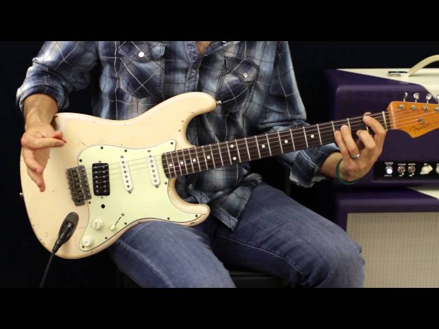 How To Construct A Melodic Solo - Soloing- Guitar Lesson