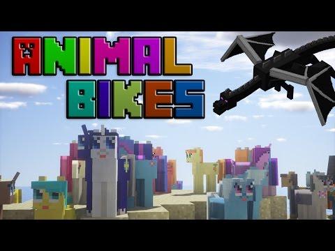 Minecraft Mod: Animal Bikes 1.11.2 installieren [German]